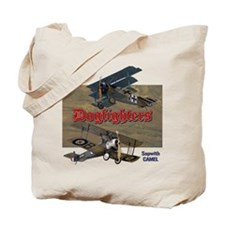 Dogfighters: Triplane vs Camel Tote Bag