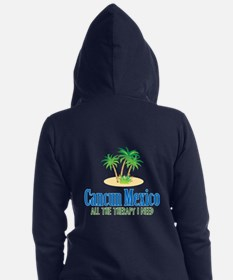 Cancun Mexico - Women's Zip Hoodie
