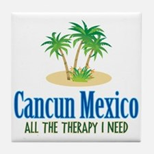 Cancun Mexico - Tile Coaster