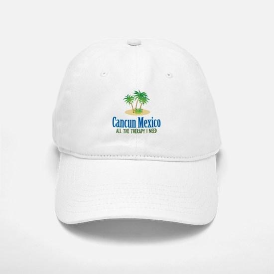 Cancun Mexico - Baseball Baseball Cap