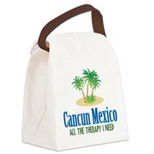 Cancun Mexico - Canvas Lunch Bag