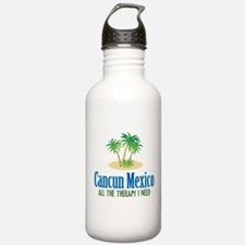 Cancun Mexico - Water Bottle
