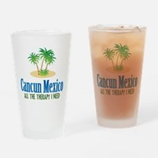 Cancun Mexico - Drinking Glass