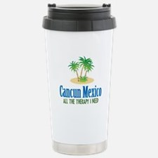 Cancun Mexico - Stainless Steel Travel Mug