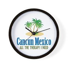 Cancun Mexico - Wall Clock