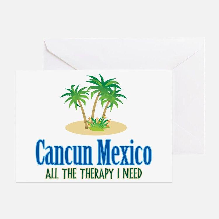 Cancun Mexico - Greeting Card