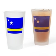 Curacao Flag Drinking Glass