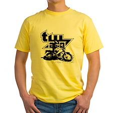 TW200 Black 2 T-Shirt
