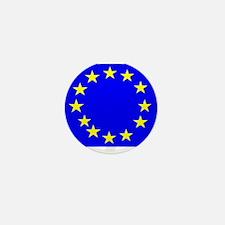 European Union Flag Mini Button