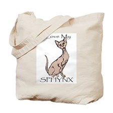 Love My Sphynx Tote Bag
