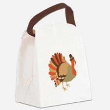 Thanksgiving Turkey Canvas Lunch Bag