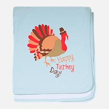 Happy Turkey Day! baby blanket