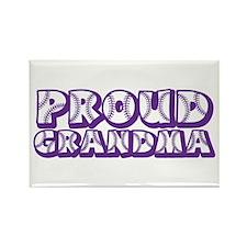 Proud Grandma Rectangle Magnet Magnets