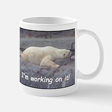I am Working On It Mugs