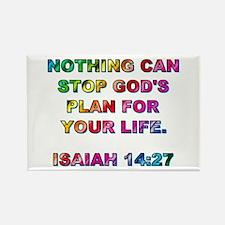 ISAIAH 14:27 Rectangle Magnet