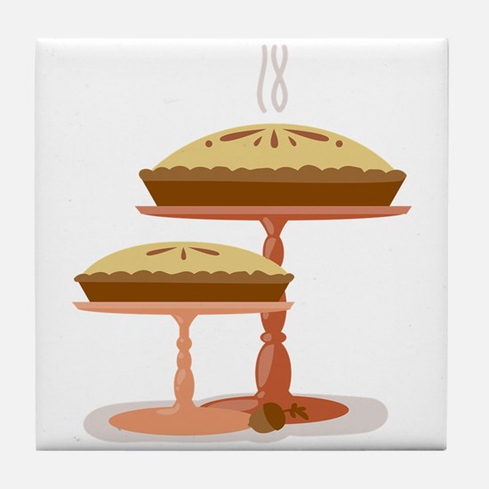 Two Pies Tile Coaster