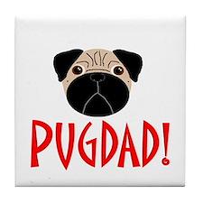 Fawn Pugdad Tile Coaster