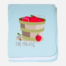 Fall Harvest baby blanket