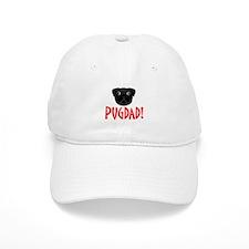 Black Pugdad Baseball Cap
