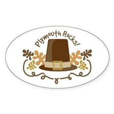 Plymouth Rocks! Decal