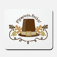 Plymouth Rocks! Mousepad