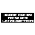 Root Cause of Extremism Bumper Sticker