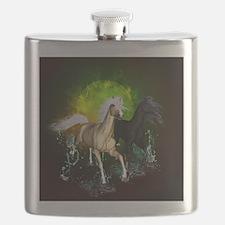Wild horses Flask