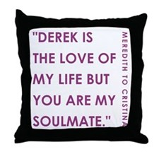 DEREK IS THE... Throw Pillow