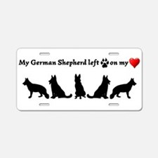 German Shepherd left Footprints on my Heart Dog Hu