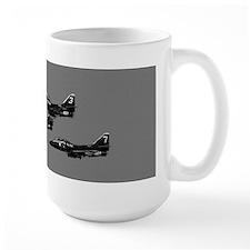 A-4 Blue Angels 1 Up 3 Down Mug