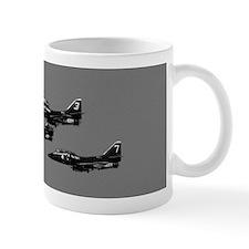 A-4 Blue Angels 1 Up 3 Down Small Mug
