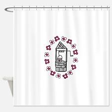 Wishing Water Well Shower Curtain