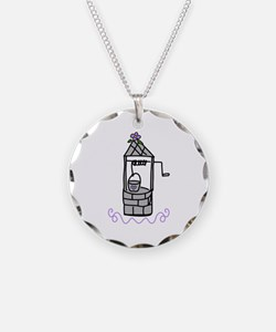 Wishing Water Well Necklace