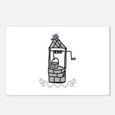 Wishing Water Well Postcards (Package of 8)