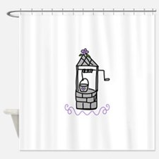 Wishing Water Well Shower Curtain