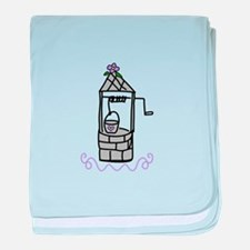 Wishing Water Well baby blanket