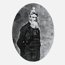 John Brown Oval Ornament