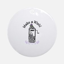 Make a Wish! Ornament (Round)