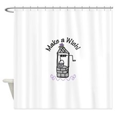 Make a Wish! Shower Curtain