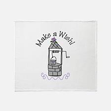 Make a Wish! Throw Blanket