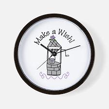 Make a Wish! Wall Clock