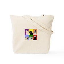 Fawn AngelPug Tote Bag