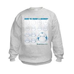 How to Draw a Monkey Sweatshirt