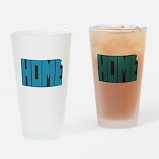 Kansas Home Drinking Glass