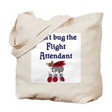 Flight Attendant Ladybugs Tote Bag