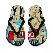 Hikers Flip Flops