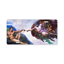 Michelangelo: Creation of A Aluminum License Plate