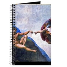 Michelangelo: Creation of Adam Journal