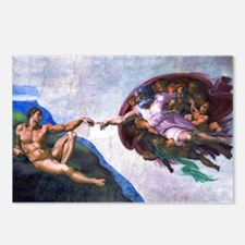 Michelangelo: Creation of Postcards (Package of 8)