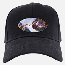 Michelangelo: Creation of Adam Baseball Hat